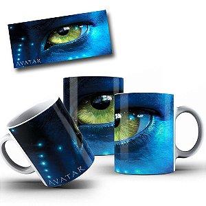 Caneca de Porcelana 325ml Personalizada Avatar