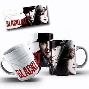 Caneca de Porcelana 325ml Personalizada Blacklist