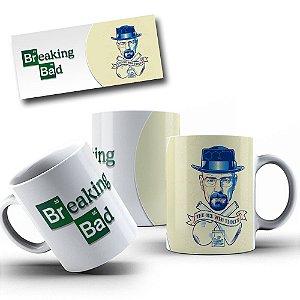Caneca de Porcelana 325ml Personalizada Walter - Breaking Bad