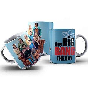 Caneca de Porcelana 325ml Personalizada The Big Bang Theory