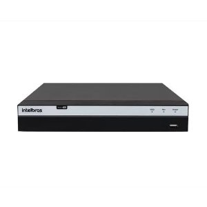 DVR Intelbras MHDX 5208 Gravador Digital de Vídeo 8 Canais 4K Ultra HD