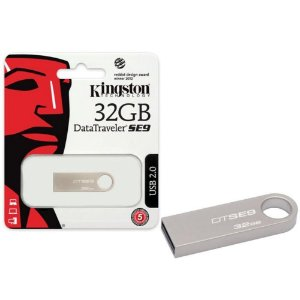 Pen Drive 2.0 32GB Dstse9h Metal Casing - Kingston