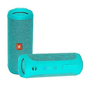 Caixa de Som JBL Flip 4 Bluetooth à Prova D'água Verde