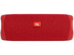 Caixa de Som JBL Flip 5 Bluetooth à Prova D'água Vermelho
