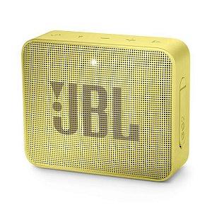 Caixa de Som JBL GO 2 Bluetooth à Prova D'água Amarelo