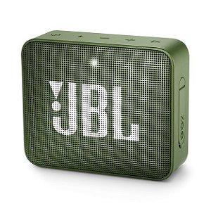 Caixa de Som JBL GO 2 Bluetooth à Prova D'água Verde