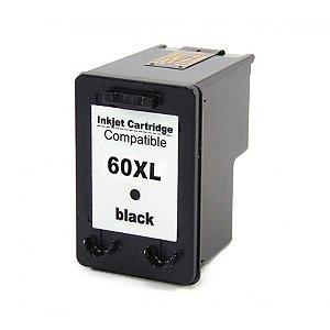 Cartucho de Tinta Compatível HP 60xl (CC641) Preto 14ml