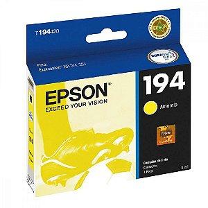 Cartucho de Tinta Epson 194 (T1944) Amarelo 3ml