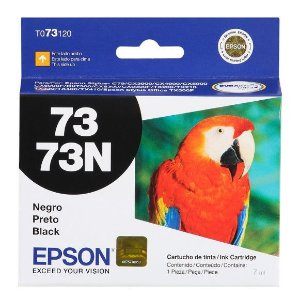Cartucho de Tinta Epson 73 (To731) Preto 7ml