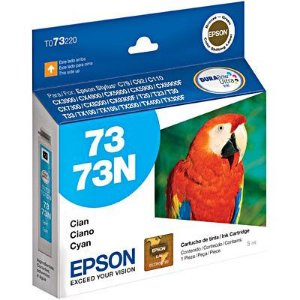 Cartucho de Tinta Epson 73 (To732) Ciano 5ml