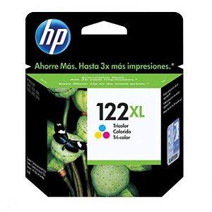 Cartucho de Tinta HP 122Xl (Ch564) Colorido 7,5ml