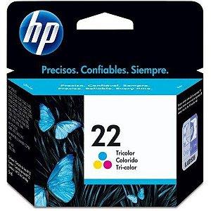 Cartucho de Tinta HP 22 (9352) Colorido 6ml