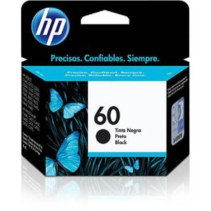Cartucho de Tinta HP 60 (Cc640) Preto 4,5ml