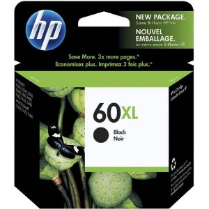 Cartucho de Tinta HP 60xl (Cc641) Preto 12ml