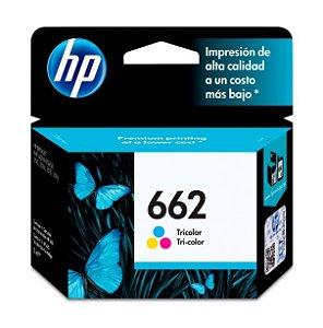 Cartucho de Tinta HP 662 (Cz104) Colorido 2ml