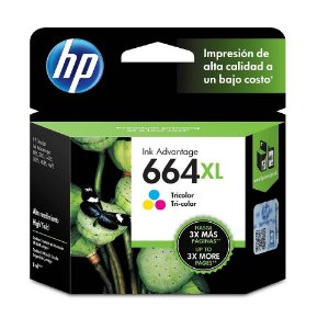 Cartucho de Tinta HP 664xl (F6V30) Color 8ml