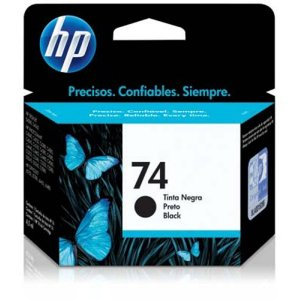 Cartucho de Tinta HP 74 (Cb335) Preto 6ml
