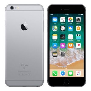 "iPhone 6s Apple 16GB Space Grey 4G Tela 4.7"" Retina Câmera 12MP + Selfie 5MP iOS 11 Proc. A9"
