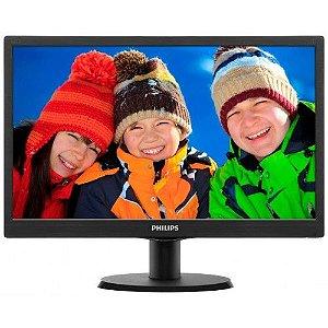 Monitor Led 15.6 163V5 Windescreen - Philips Semi Novo