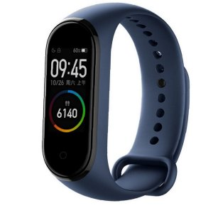 Smartband Mi Band 4 Tela Amoled Bluetooth 5.0 Android Azul / Xiaomi