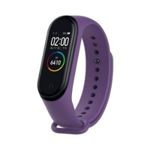 Smartband Mi Band 4 Tela Amoled Bluetooth 5.0 Android Roxo / Xiaomi