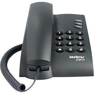 Telefone c/Fio Pleno Preto - Intelbras