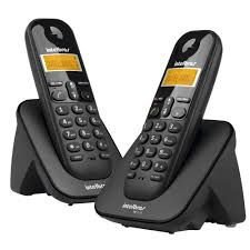 Telefone sem Fio + 1 Ramal Ts 3112 Preto - Intelbras