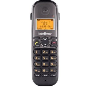 Telefone sem Fio Ts 5120 Preto com Viva Voz - Intelbras