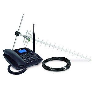 Telefone Celular Fixo Cfa 4212 Preto - Intelbras