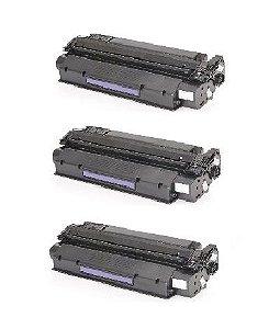 Kit 03 Cartuchos de Toner Compatível HP C7115A Q2613A Q2624A