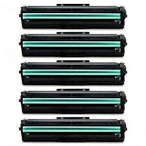 KIT 05 Cartuchos de Toner Compatível Samsung Mltd111