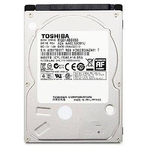 Hd Notebook 500gb 5400 Rpm 8mb Sata - Toshiba