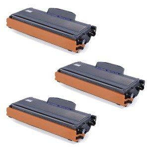 Kit 03 Cartuchos de Toner Compatível Brother Tn360
