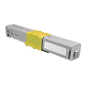 Cartucho de Toner Compatível Okidata C330  Amarelo