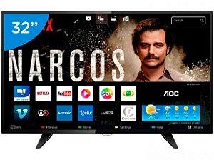 Smart Tv 32' HD Hdmi Usb Wi Fi Le32s5970 - Aoc