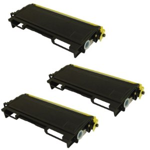 Kit 03 Cartuchos de Toner Compatível Brother Tn350