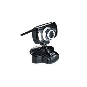 Webcam Wb2105 - E Bk 16mp c/ Microfone - C3tech