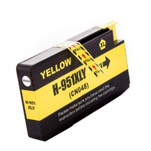 Cartucho de Tinta Compativel HP 951XL (CN048) Amarelo 27ml