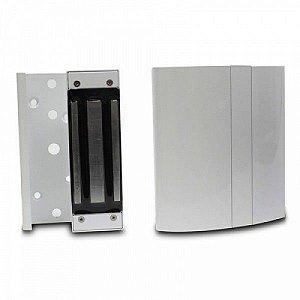Fechadura Eletroímã FS150 Prata com Sensor - Intelbras