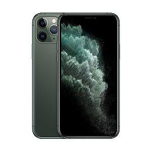 "iPhone 11 Pro Max Apple 64GB Tela 5,8"" iOS 13 Tripla Câmera Traseira Resist à Água Verde-Meia-Noite"