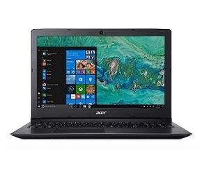 """Notebook A315-53-34Y4 8ª Intel Core i3 4GB 1TB LED HD 15.6"""" W10 Preto - Acer"""