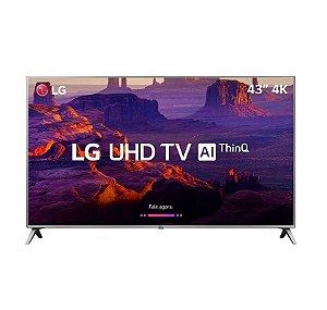 """Smart Tv Led 43"""" Ultra HD 4k 43UK6510PSF - LG"""