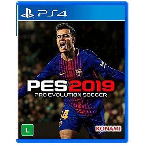 Jogo Pro Evolution Soccer 2019  PS4 - Konami