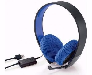 Headset PS4 Silver Wired Stereo - Sony