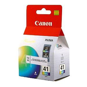 Cartucho de Tinta Original Canon 41 (CL41) Color 12ml - Canon