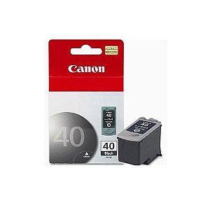 Cartucho de Tinta Original Canon 40 (PG40) Preto 16ml
