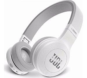 Fone de Ouvido JBL E45BT Bluetooth Com Microfone Branco