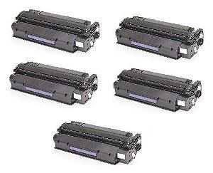 Kit 05 Cartuchos de Toner Compatível HP C7115A Q2613A Q2624A