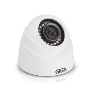Câmera Dome Hd Serie Orion 720p Ir 20m 1/4 2.6mm Gs0019 Giga