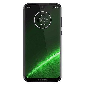 "Smartphone Motorola Moto G7 Plus Indigo 6.24"" 64Gb Dual Chip Android Pie 9.0 Octa-Core Câmera 16Mp"